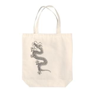 昇り龍 Tote bags
