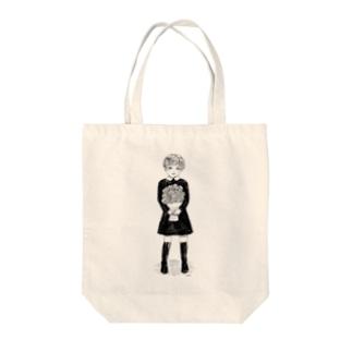 花束の子 Tote bags
