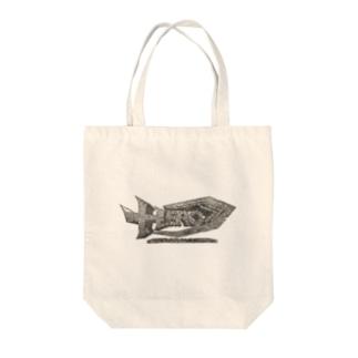 HERO立体ロゴ Tote bags