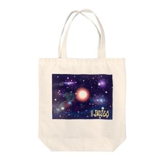 数秘&カラー(11インディゴ) Tote bags