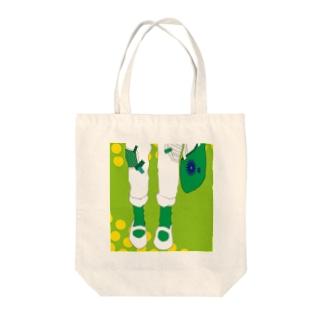 緑 Tote bags