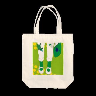 フカミの緑 Tote bags