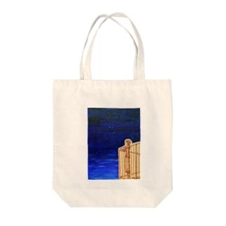 今日も夜を越える Tote bags
