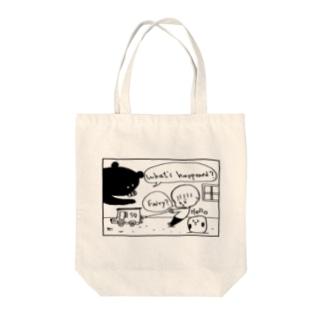 Kokeshi Fairy Tote bags