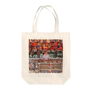 CG絵画:土産物店 CG art: Souvenier shop Tote bags