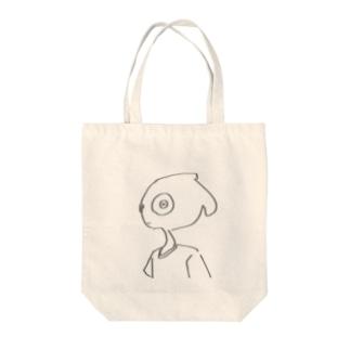 見んな^_^、 Tote bags