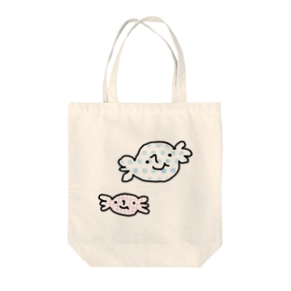 あめだまんとソフトキャンディちゃん Tote bags