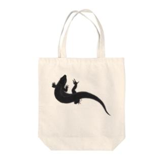 オニプレ Tote bags