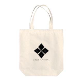 CHEL CHANNNEL Tote bags