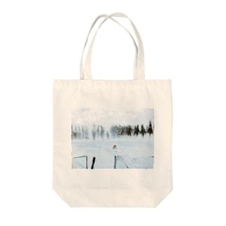 冬のひ Tote bags