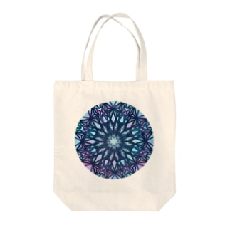 missing piece(Blue) Tote bags
