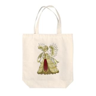 マリアとフギン Tote bags