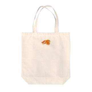 金魚ちゃん Tote bags