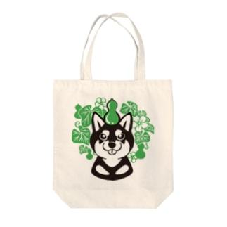 瓢箪にコマ Tote bags