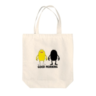 Good Morning! Tote bags