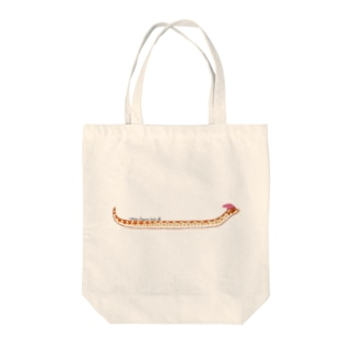セイブシシバナヘビ(アルビノ) Tote bags