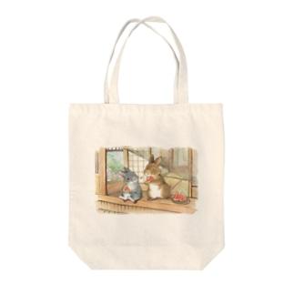 *スイカの種とばし* Tote bags