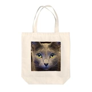 ねこにゃーさん Tote bags