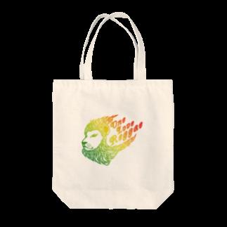 風乃応援団のOne Love Reggae(グラデ) Tote bags