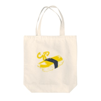 tamago Tote bags