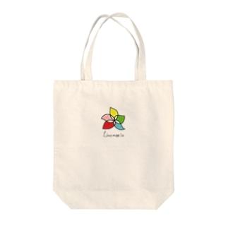 リノモエラ ロゴ Tote bags