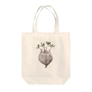 パキポディウムグラキリス現地球抜き苗 Tote bags