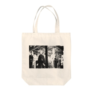 モノクロ3 Tote bags