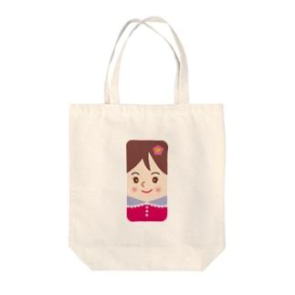 スマホに住んでるスマ子02 Tote bags
