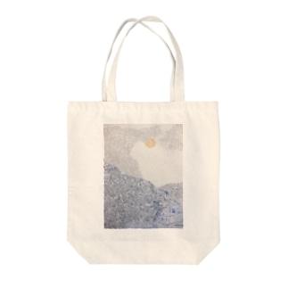 模様売り場の山の模様トートバッグ Tote Bag