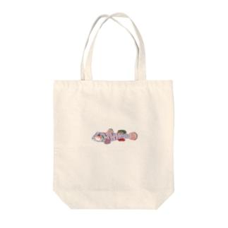 ヨシノボリ Tote bags