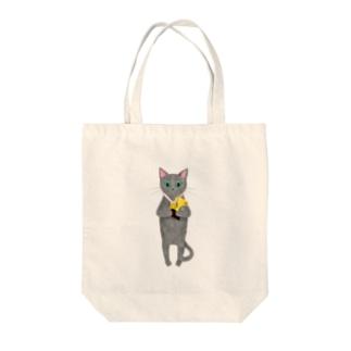 軽率に優勝する猫 Tote bags