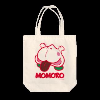よシまるシンのMOMORO(WHITE) Tote bags