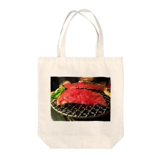 焼き肉 Tote bags