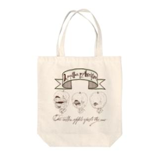 林檎の魔女 Apple Green Tote bags