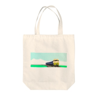 田園を走る Tote bags