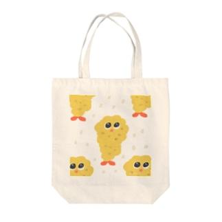 エビフライくん Tote bags