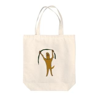 ハブ対マングース Tote bags