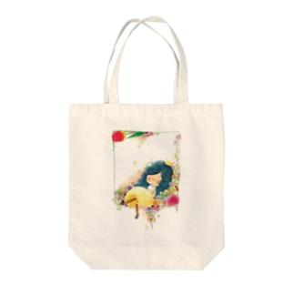 花籠 トートバッグ