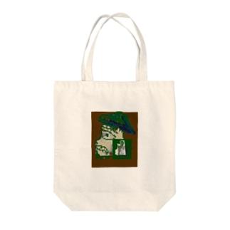 探検家 Tote bags