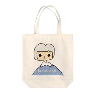 7030ナオミオ百貨の山子 Tote bags