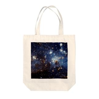 大マゼラン星雲にある星形成領域、LH95 Tote bags