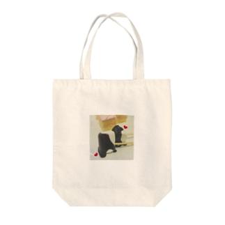 チョコフォンデュバッグ Tote bags