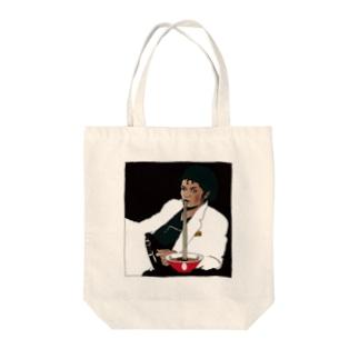 凪地獄ジャクソン Tote bags