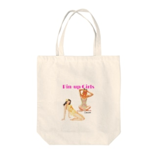 Pin-Up Girls Tote bags