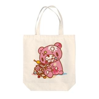 【各20点限定】いたずらぐまのグル〜ミ〜(8) Tote bags