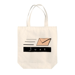 JUST MAIL Tote bags