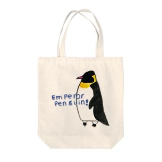 ペンギンさん Tote bags
