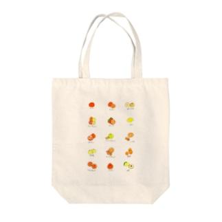 柑橘 Tote bags