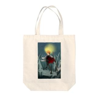 Jack-o'-Lantern A Tote bags