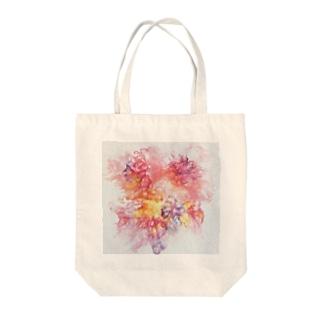 PinkFluidFlowers Tote Bag